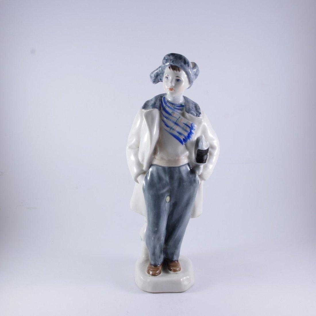 """A Russian LFZ Figure """"Young boy""""  1960's"""