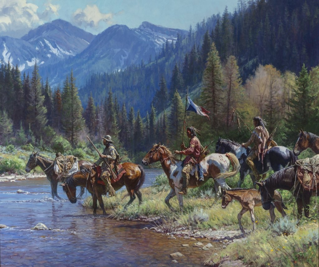 Martin Grelle (b. 1954) New Wealth for the Blackfeet