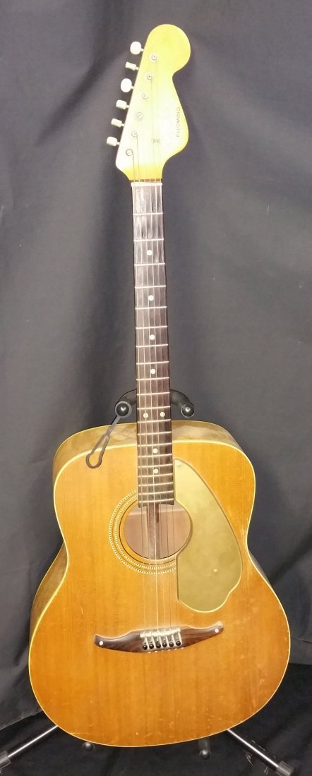 1960 s fender palomino acoustic guitar