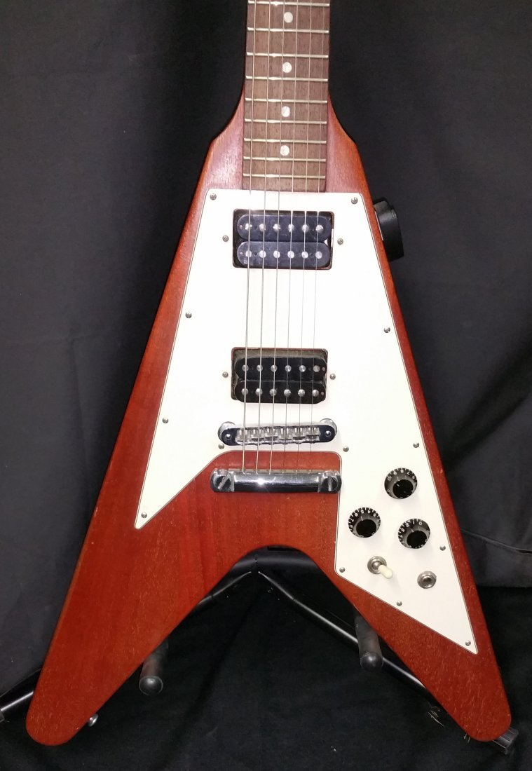 GIBSON FLYING V ELECTRIC GUITAR - 2