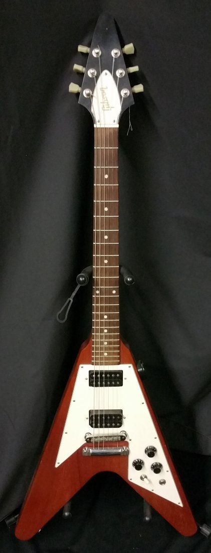 GIBSON FLYING V ELECTRIC GUITAR - 6