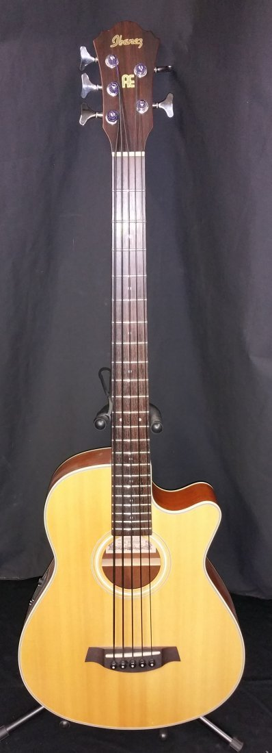 IBANEZ ACOUSTIC / ELECTRIC 5 STRING BASS