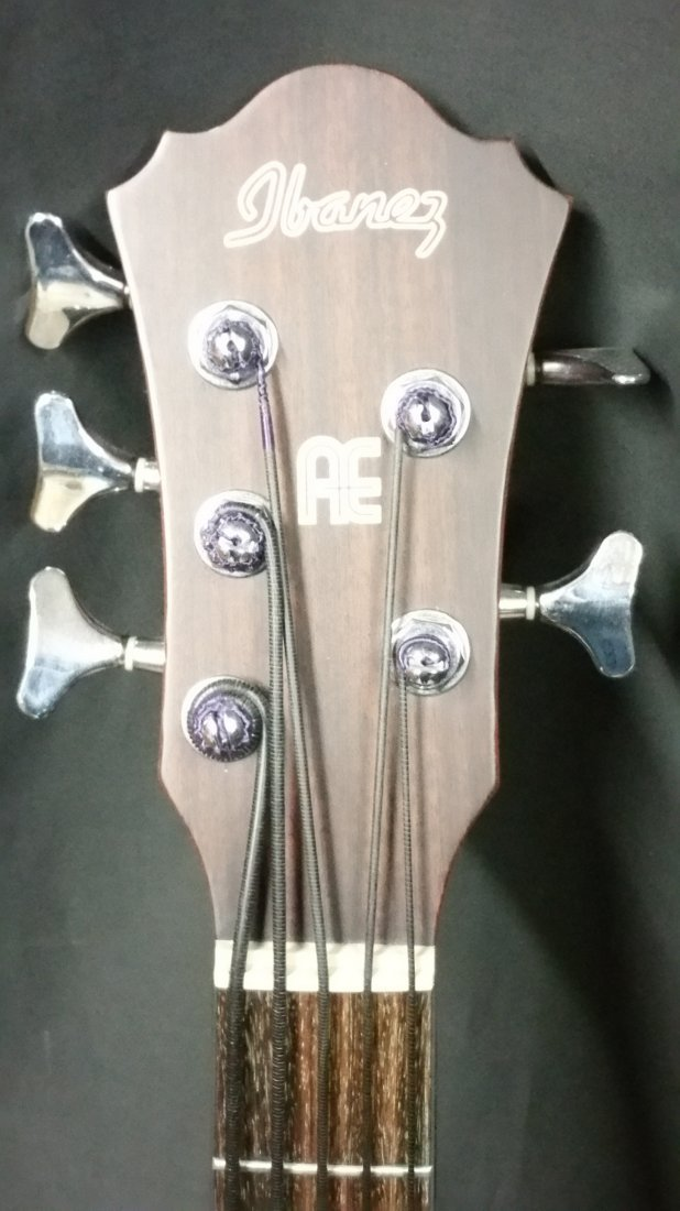 IBANEZ ACOUSTIC / ELECTRIC 5 STRING BASS - 3