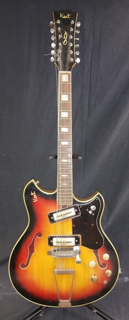 1960'S KENT ELECTRIC 12 STRING GUITAR