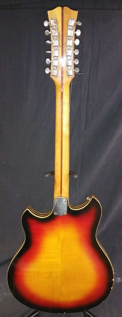 1960'S KENT ELECTRIC 12 STRING GUITAR - 6