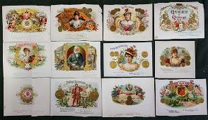 EXTENSIVE CIGAR LABEL & BAND COLLECTION