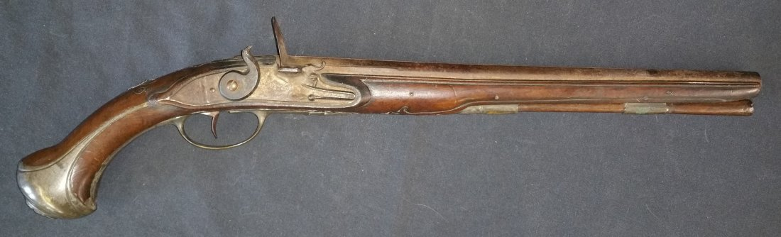 GEORGIAN ERA FLINTLOCK PISTOL