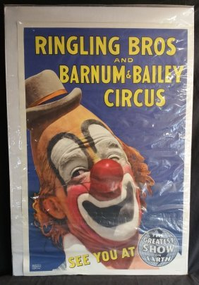 Ringling Bros. and Barnum & Bailey Circus Poster-Coplan