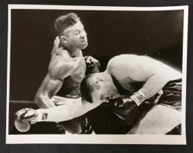 Original Boxing Photo- Patterson & Quarry 1967