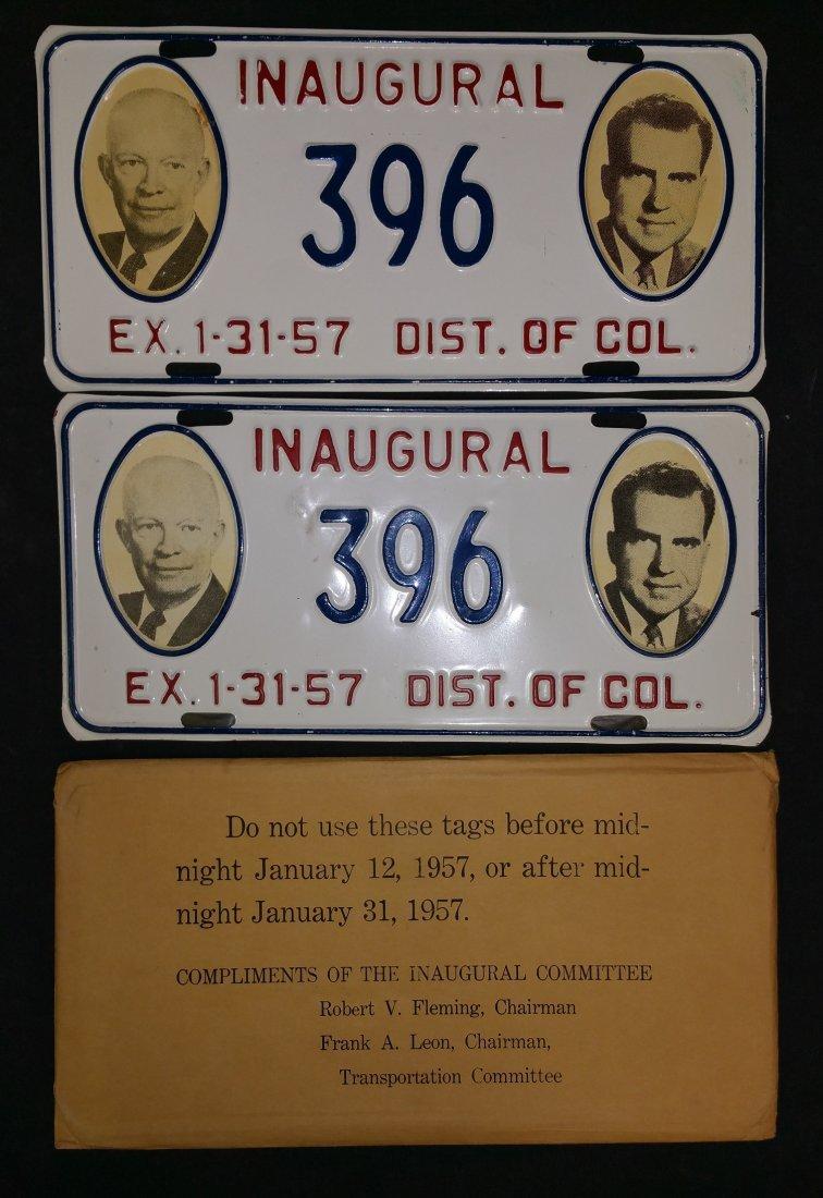 1957 Eisenhower – Nixon Inauguration Committee Official - 3
