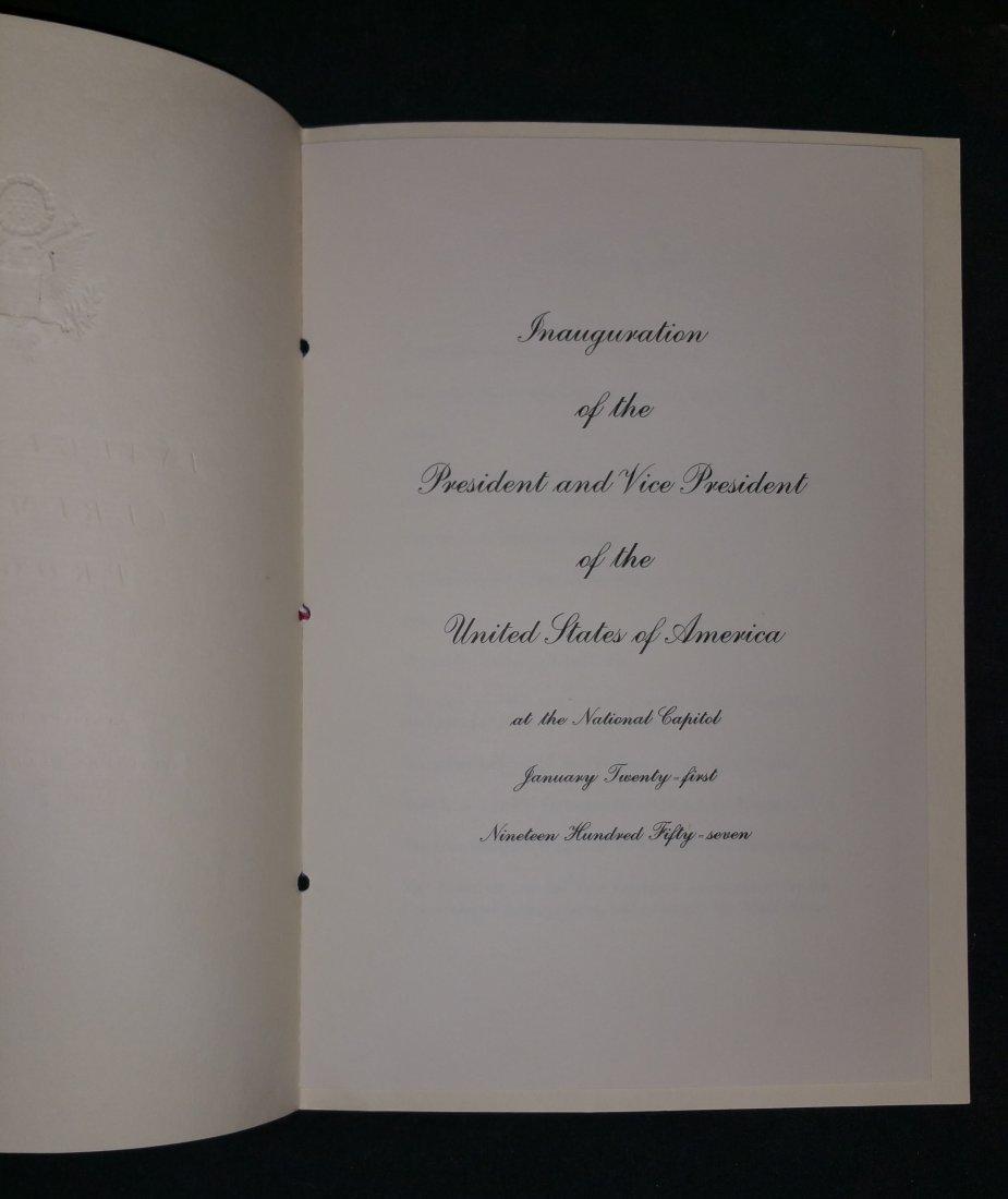 1957 Eisenhower – Nixon Inauguration Committee Official - 5