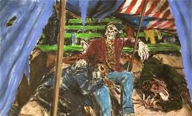 James Romberger Original �The Rentless� Circa 1992