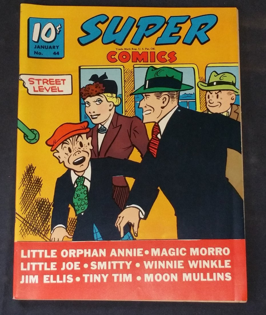 SUPER Comics No.44  Golden Age Rated 8.5 to 9.0 ( VF++)
