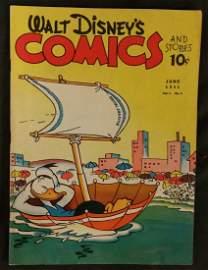 Walt Disney�s Comics and Stories June 1941 Vol.1 No.9 R