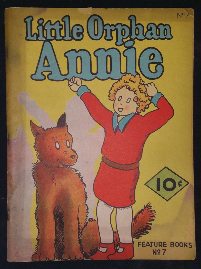 Little Orphan Annie Feature Books No. 7 by Harold Gray