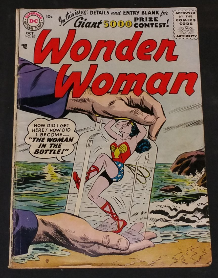 Wonder Woman No.85 OCT 1956 DC Comics Golden Age Rated