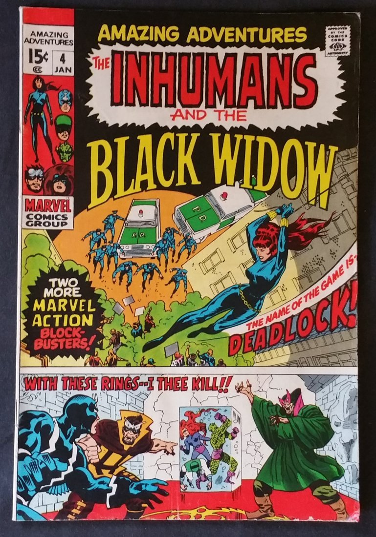 Marvel Amazing Adventures : The Inhumans and the Black