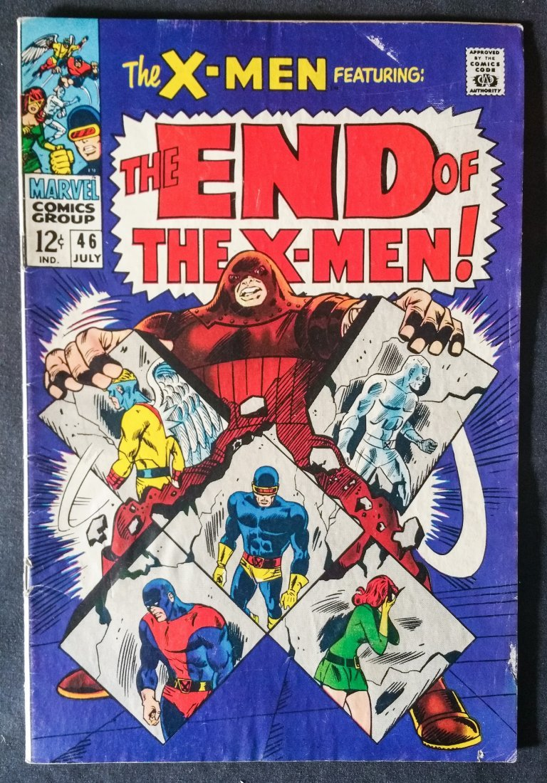 The X-Men No. 46 Jul 1968 Rated 6.0 -6.5 ( FN- to FN)