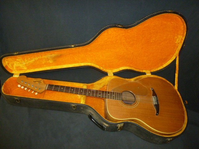 Fender Palomino with Custom Case - 7