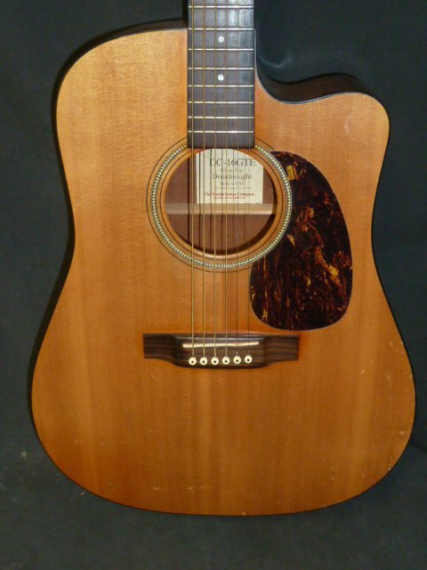 Martin Guitar Style DC 16 GTE Acoustic Electric - 7