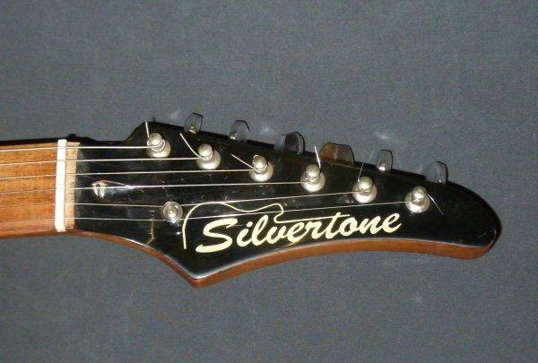 Silvertone Guitar Model SS-10 - 4