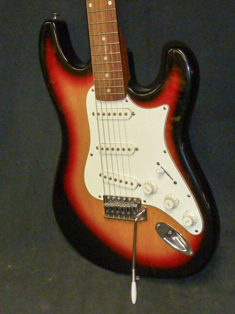 Silvertone Guitar Model SS-10 - 5