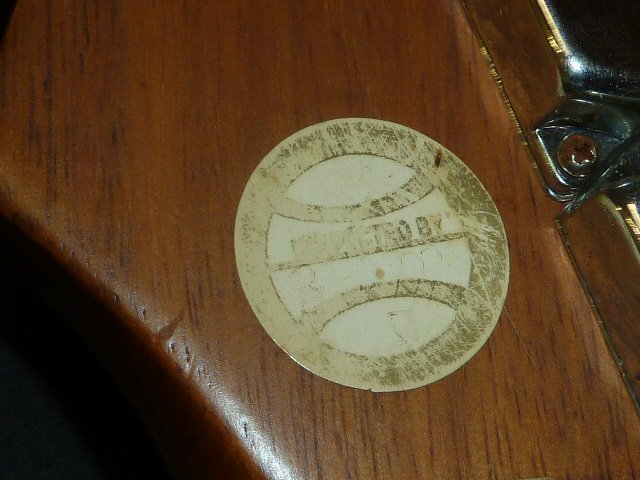 Silvertone Guitar Model SS-10 - 6