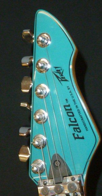 Vintage Peavey Falcon USA Teal Blue - 2