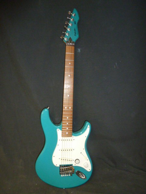 Vintage Peavey Falcon USA Teal Blue - 4