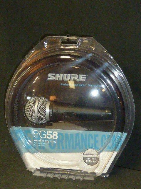 Shure Vocal Microphone NIP