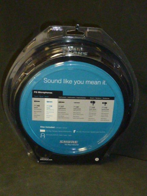 Shure Vocal Microphone NIP - 2
