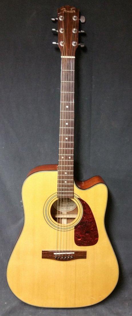 Fender DG20CE NAT Acoustic/Electric Guitar - 3