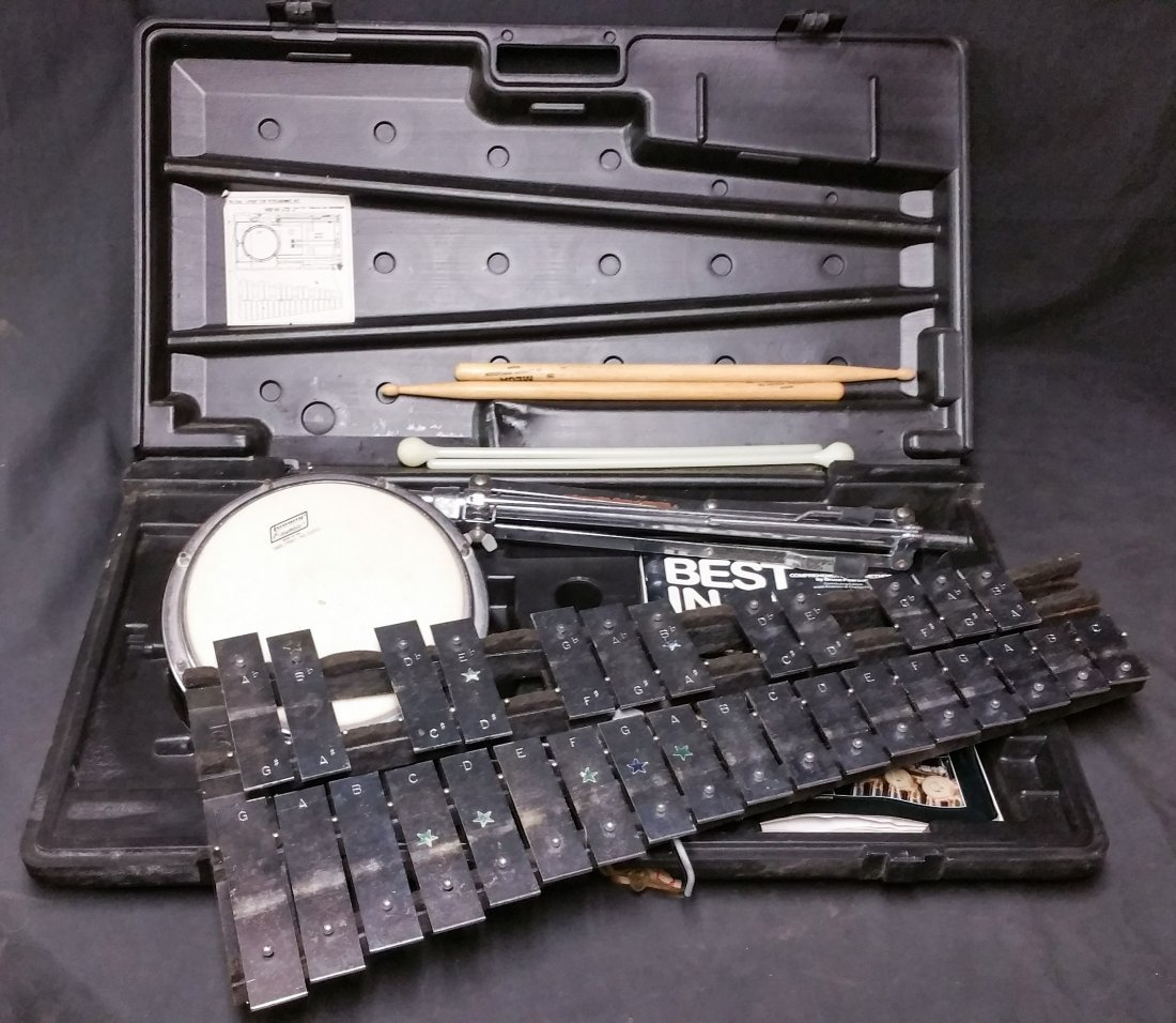 Ludwig Musser Xylophone & Practice Pad Kit