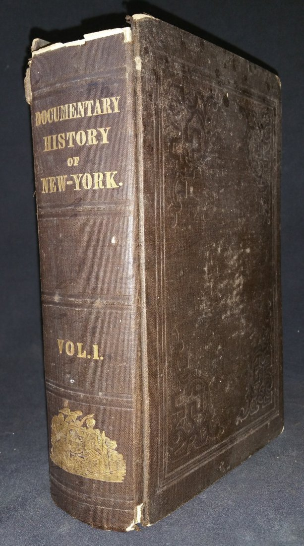 1849 NY State History Book - Maps