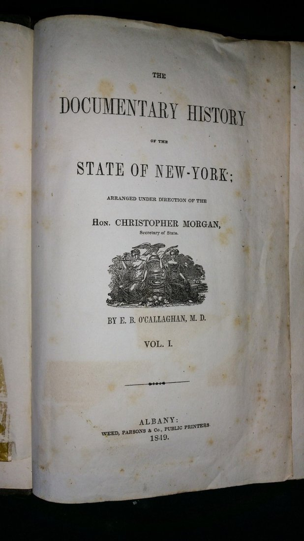 1849 NY State History Book - Maps - 4