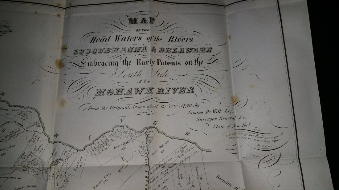 1849 NY State History Book - Maps - 6
