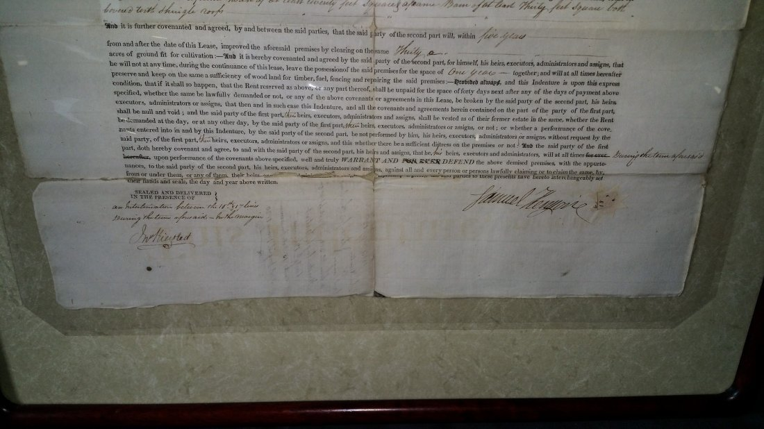 1814 Indenture Document  NY - Hunter - 2