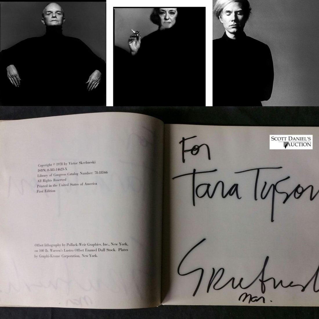 Skrebneski- Signed – Bowie, Capote, Erte