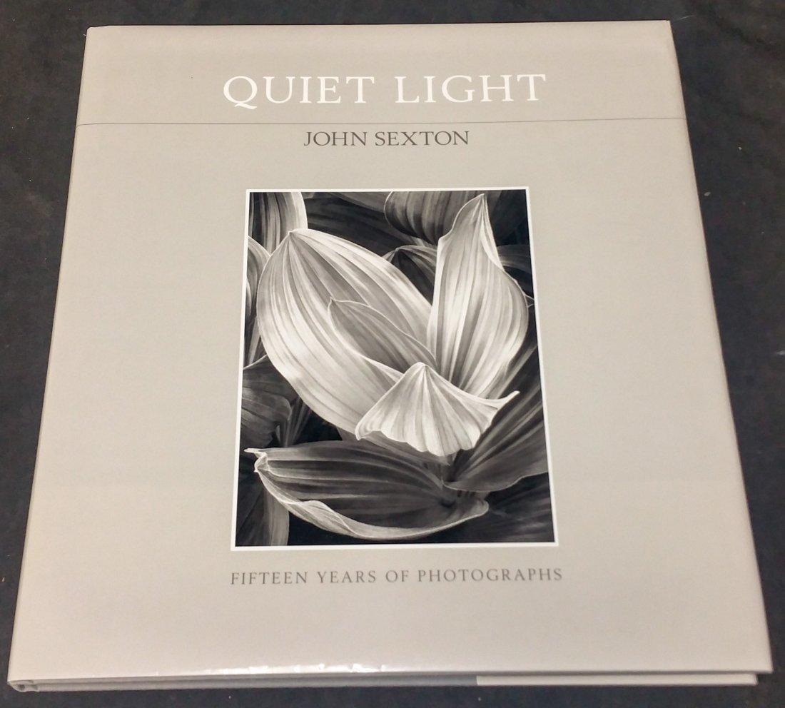 Quiet Light Photographer John Sexton Signed 1st Edition