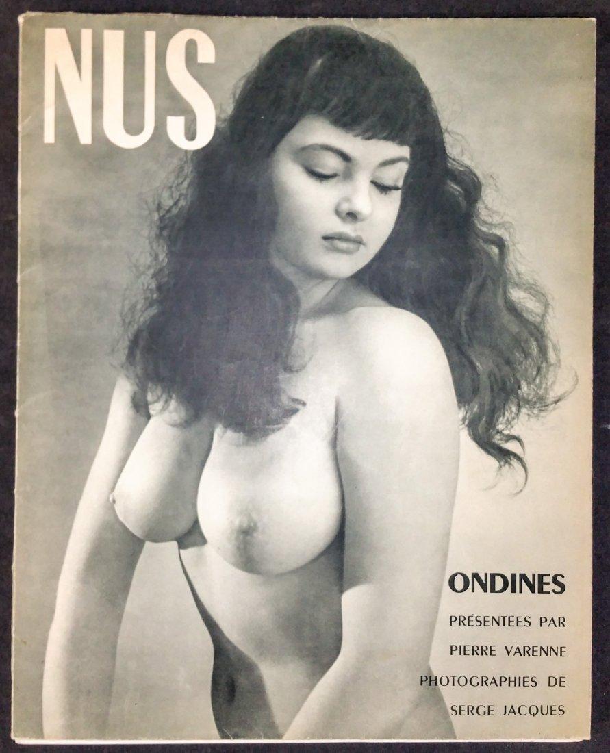 NUS Nudes - Pierre Varenne, Serge Jacques