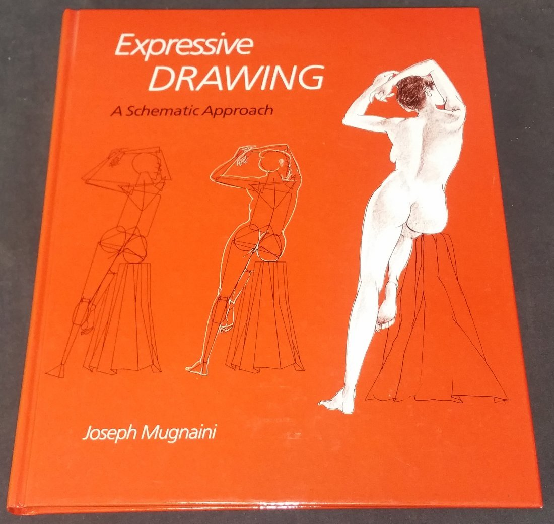 Signed Joseph Mugnaini Book Expressive Drawing +