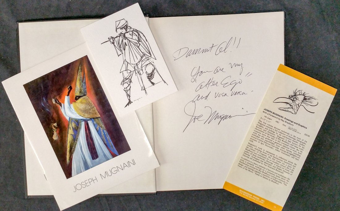 Signed Joseph Mugnaini: Drawings and Graphics plus