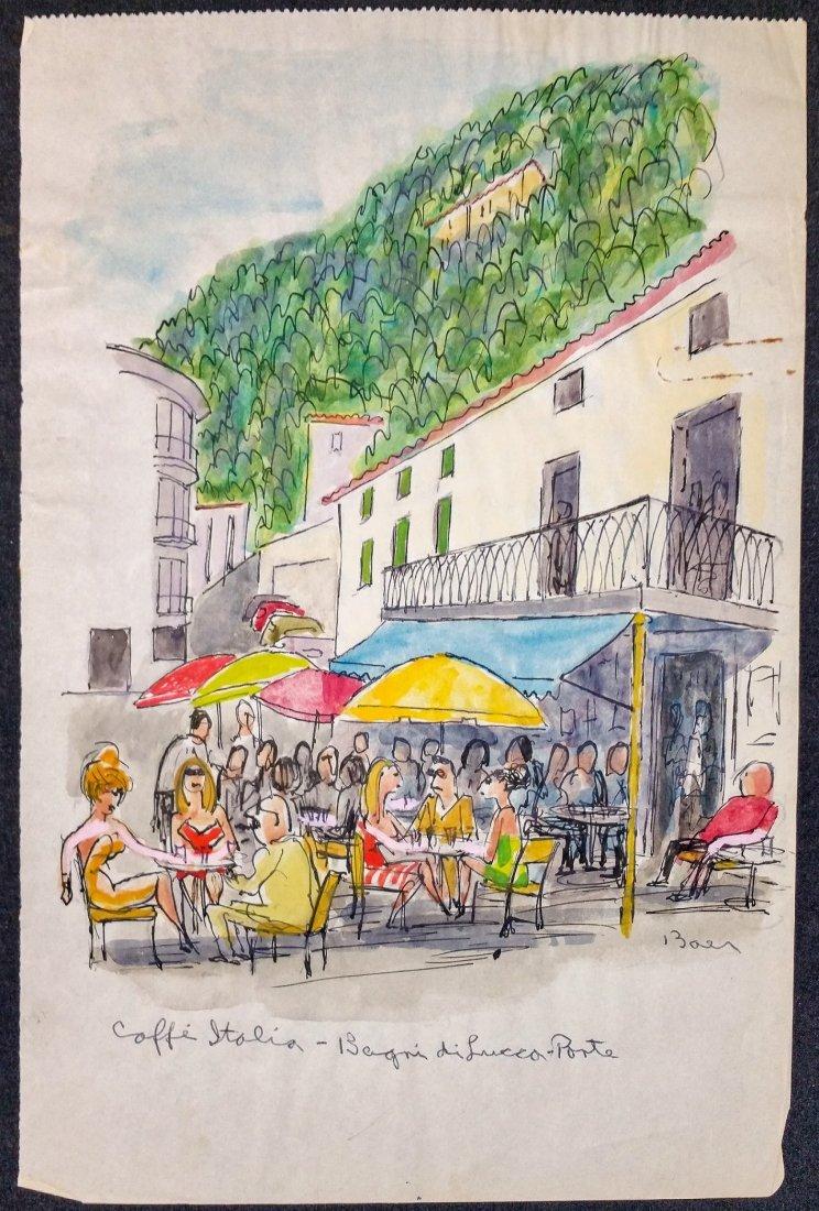 Caffe Italia-Bagni di Luccca- Ponte Howard Baer