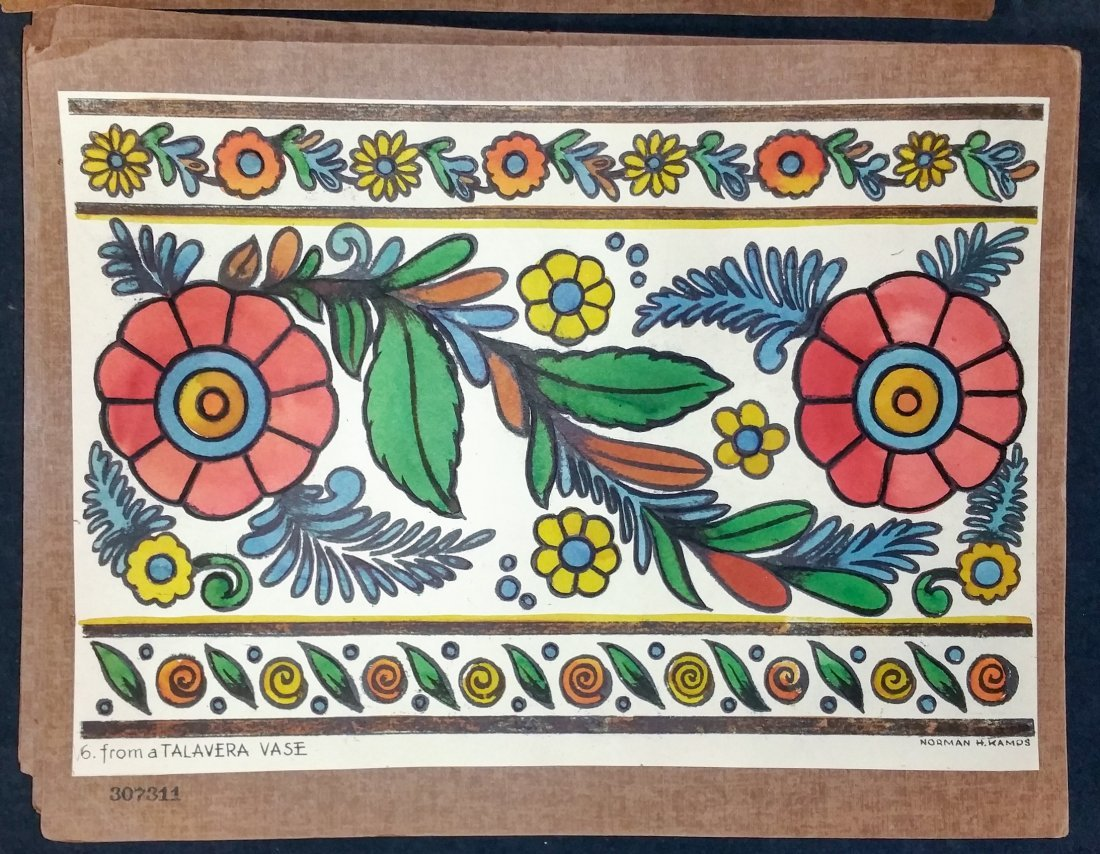 Mexican Designs by Norman Kamps - 6