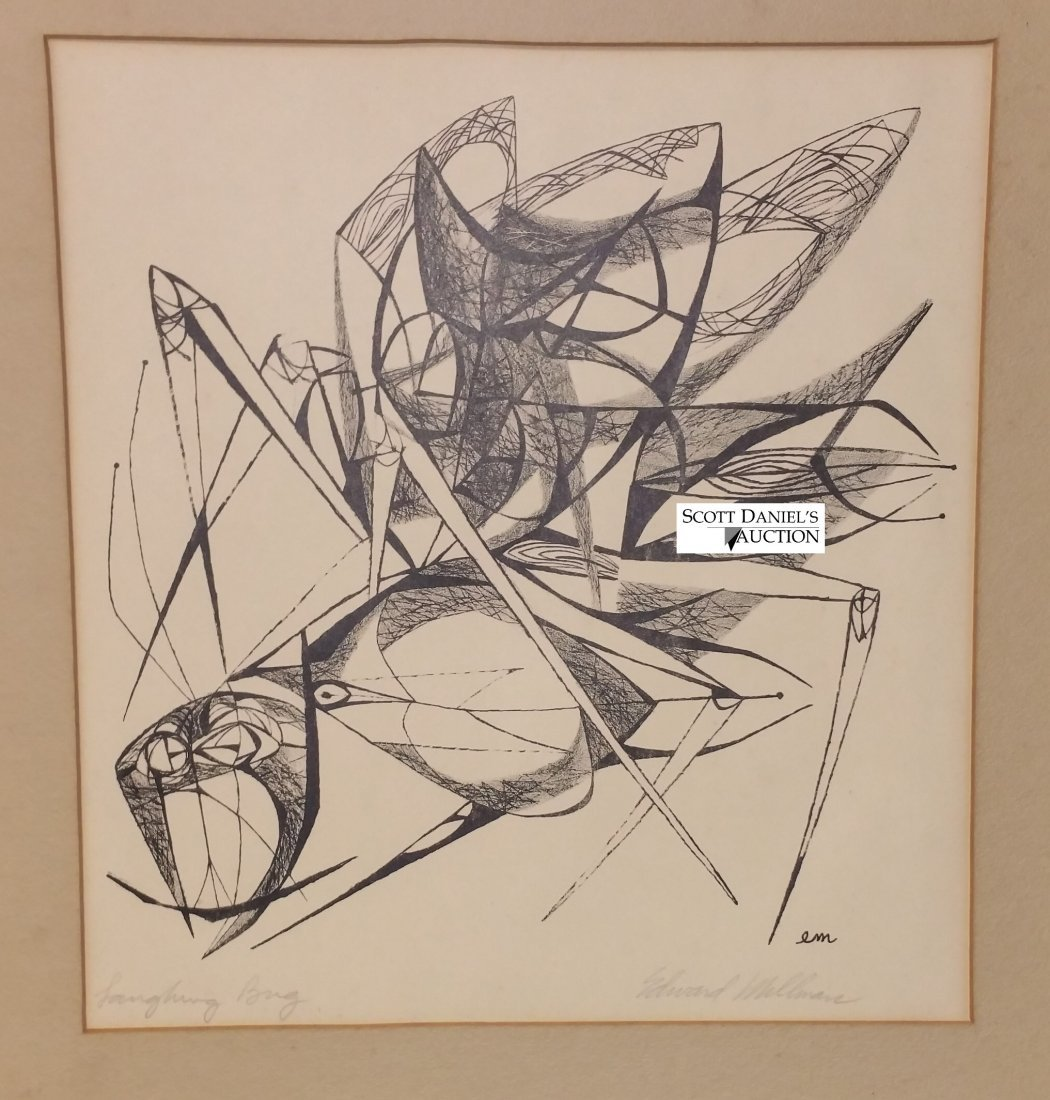 Laughing Bug by Edward Millman (1907 1964)