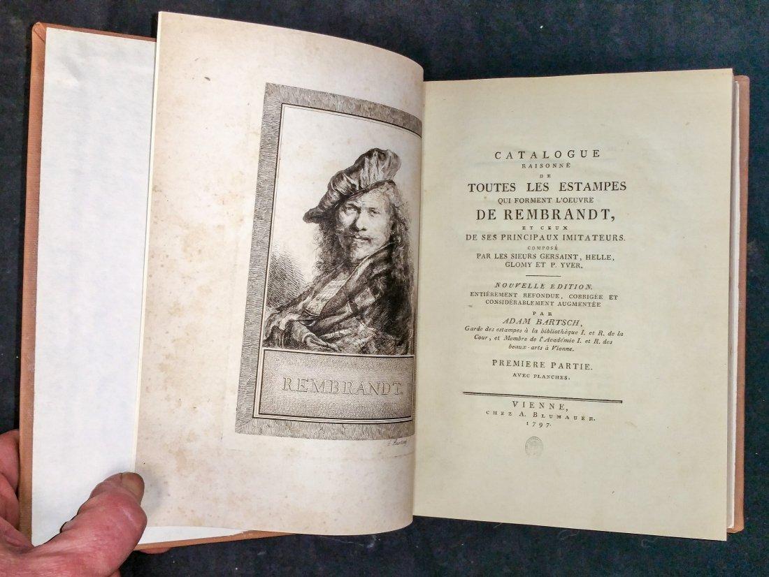 1797 Catalogue Raisonne  De Rembrandt