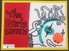 """Keith Haring """"The Paris Review"""""""