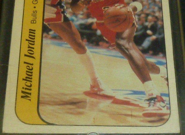 Michael Jordan Rookie Sticker Card - 3
