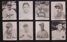 1947 Tip Top Bread Baseball Cards -Yogi Berra and more