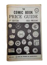 1st Edition The Comic Book Price Guide by Overstreet